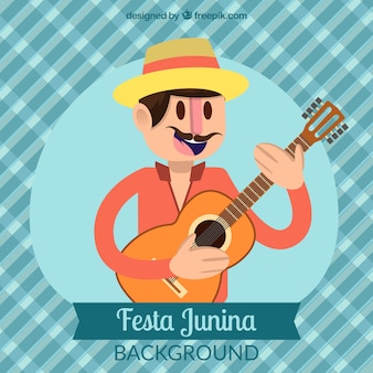Festa junina character background