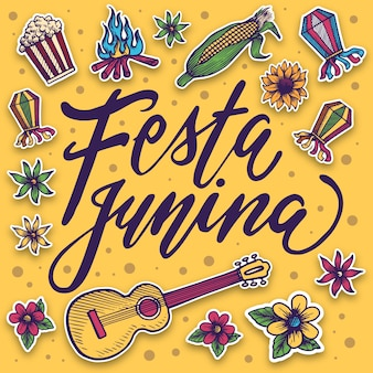 Festa junina drawing