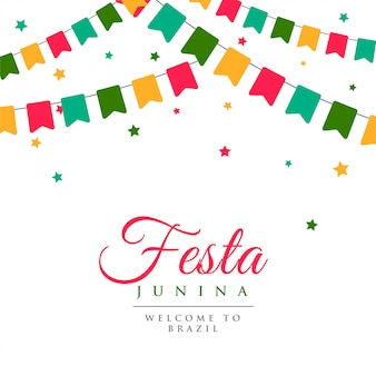Festa junina party carnival background