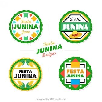 Пакет мило festa junina этикетки