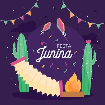 Festa junina дизайн событий