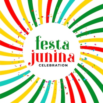 Festia junina june month brazilian festival background