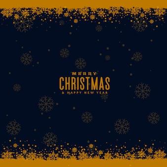 Festival snowflakes background for christmas season