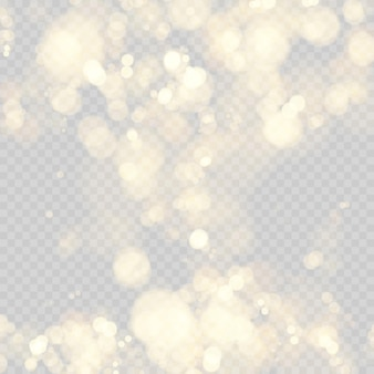 Festive background with defocused lights. effect of bokeh circles.