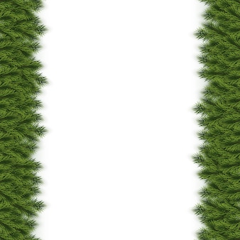 Festive christmas or new year background. christmas fir-tree branches. holiday's background.