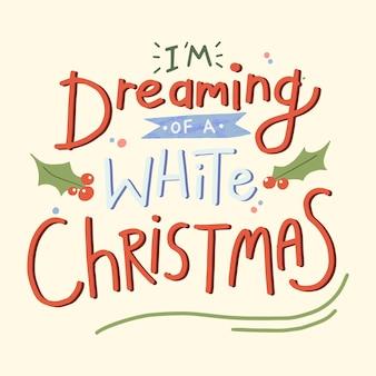 Adesivo preventivo natalizio festivo, vettore di design tipografia