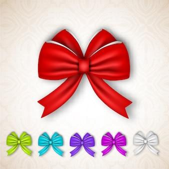 축제 선물 새틴 리본 리본 세트
