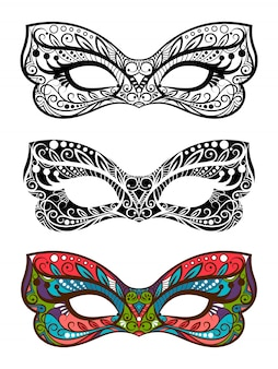 Festive masks set