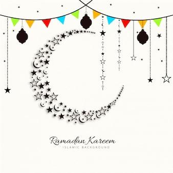 Festive ramadan kareem illustration
