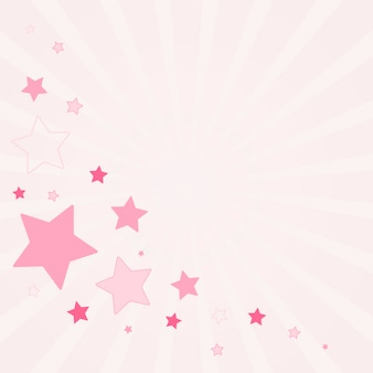 Festive stars background design vector
