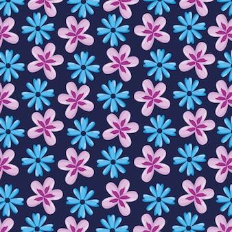 Fflowersとのシームレスなパターンは自然のまま