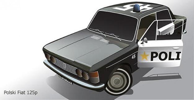Fiat автомобиль вектор