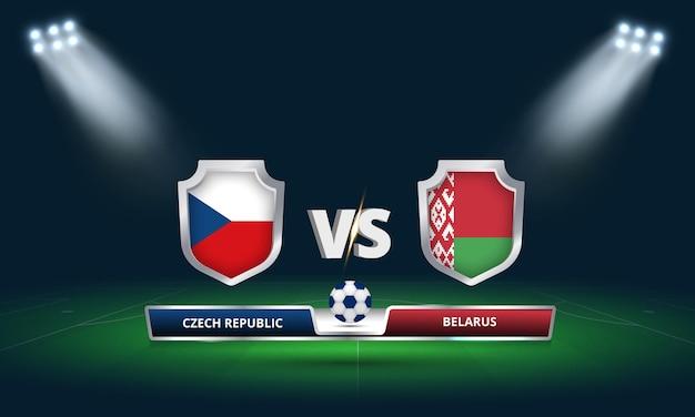 Трансляция футбольного матча чемпионата мира по футболу 2022 чехия - беларусь