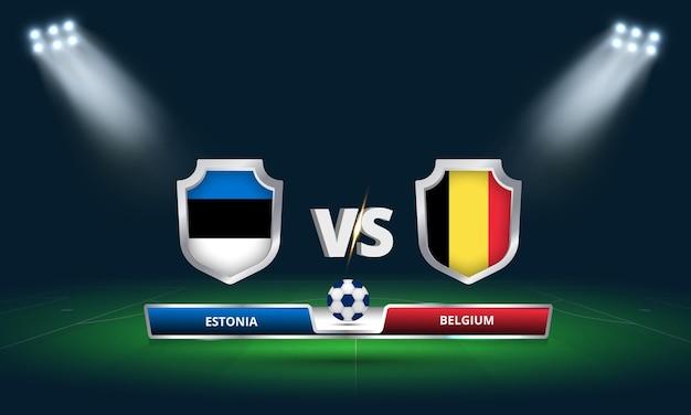 Трансляция футбольного матча чемпионата мира по футболу 2022 эстония - бельгия