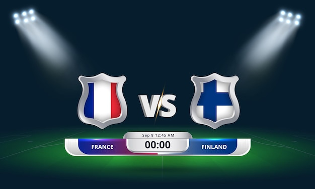 Fifa world cup qualifier 2022 france vs finland football match