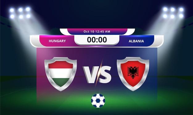 2022년 fifa 월드컵 예선 헝가리 vs 알바니아 축구 경기