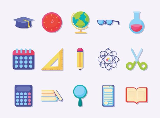 Пятнадцать образовательных предметов