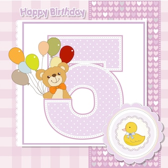 The fifth anniversary of the birthday