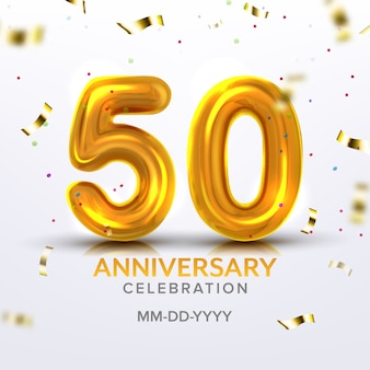 Fiftieth anniversary celebration number