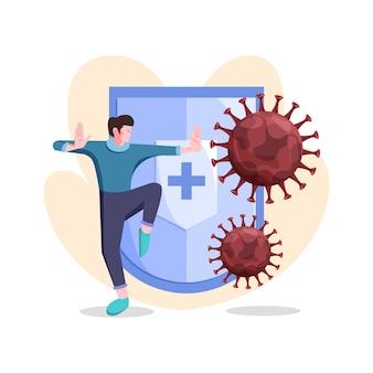 Combatti il concetto di virus