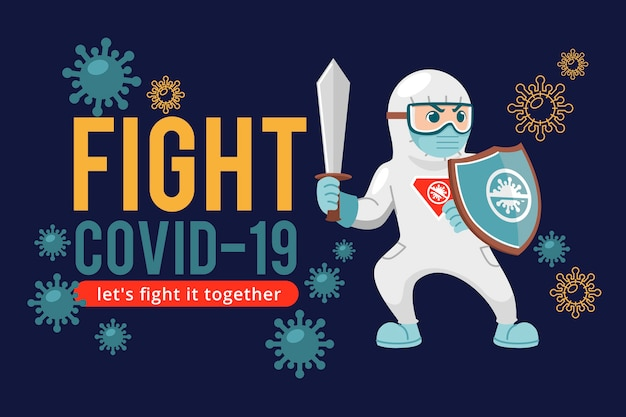Fight the virus ready to fight for health