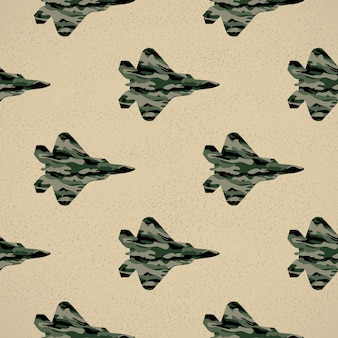 Fighter pattern illustration. creative and military style image