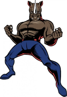 Fighter rhino