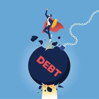 이익을위한 투쟁. 부채와 신용, 사업을위한 투쟁