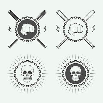 Логотип боевых или боевых искусств