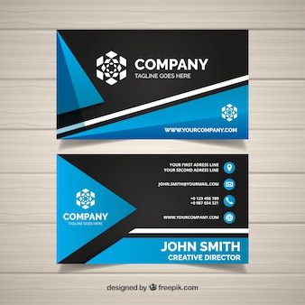 Figures business card