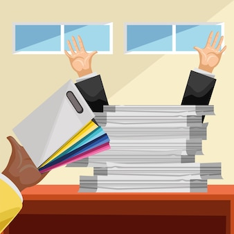 File paperwork office