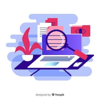 Концепция целевой страницы поиска файлов