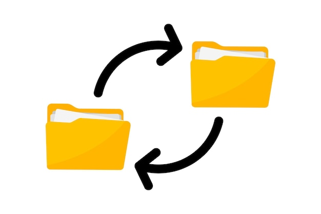Files transfer transfer of documentation folders with paper files file sharing
