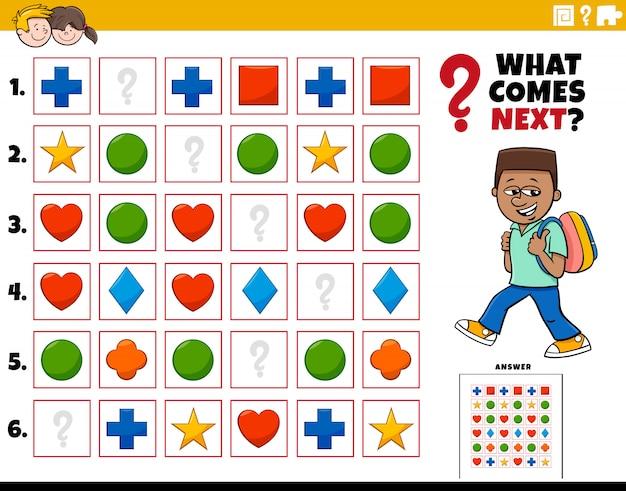 Заполните шаблон образовательного задания для детей
