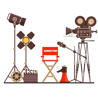 Film directors workplace