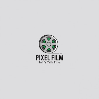 Film logo with a gray background