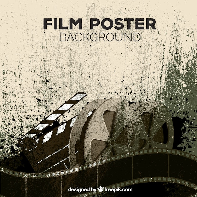 movie poster background templates