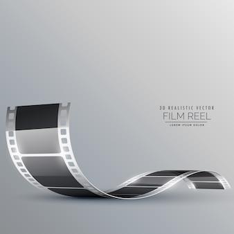 きれいなフィルムストリップベクトルの背景