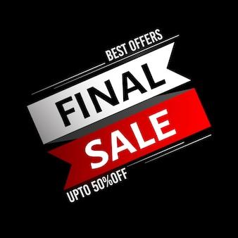 Final sale background