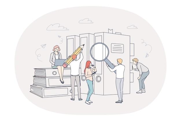 財務分析チームワークの概念