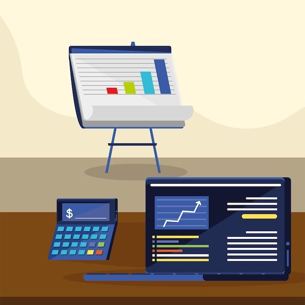 Finance graphs analysis