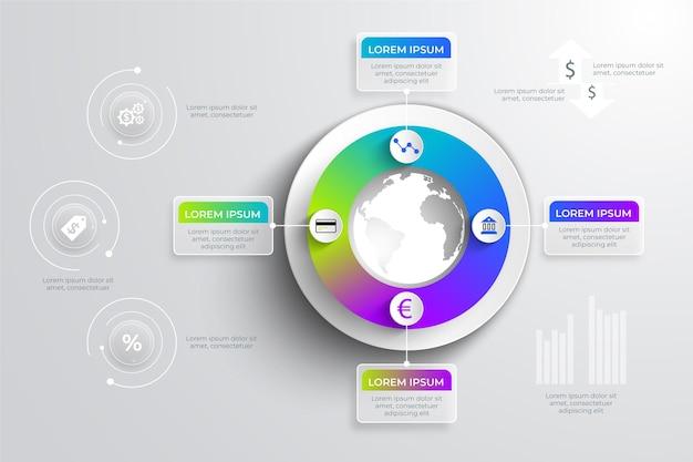 금융 infographic 개념