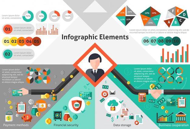 금융 infographic 세트