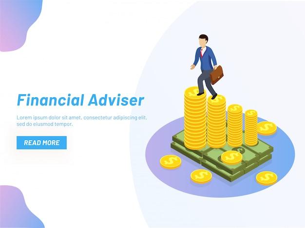 Financial adviser.