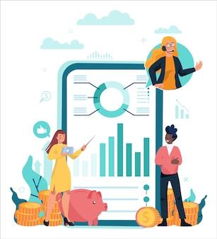 Онлайн-сервис или платформа финансового консультанта или финансиста.