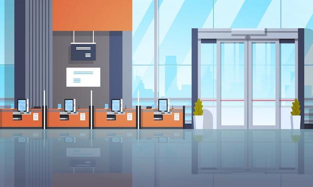 Financial center self service machines