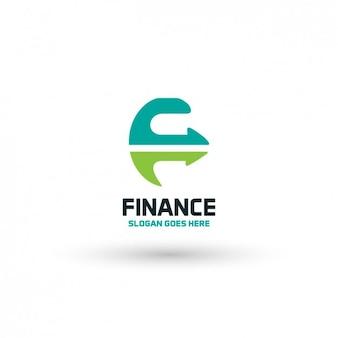 Società finanziaria logo template