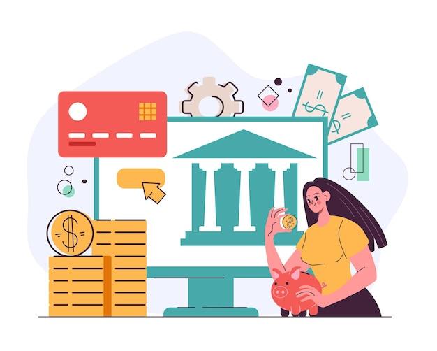 Financial digital open banking platform