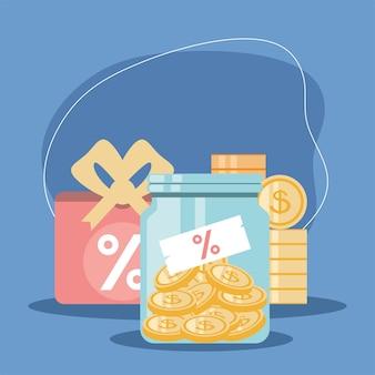 Financial earning revenue interest