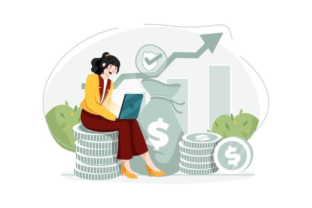 금융 보험 그림